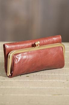 Hobo Rachel Leather Clutch Wallet