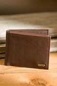 Waxy Milled Leather Wallet