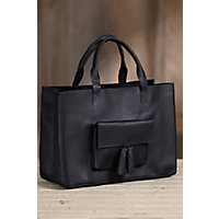 Overland Margaret Oiled Cowhide Leather Tote Bag