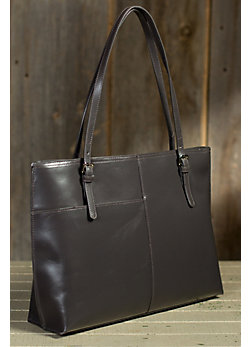 Hobo Annalisa Leather Handbag