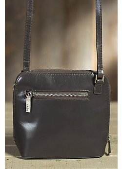 Hobo Camilla Leather Handbag