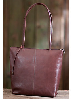 Women's Hobo Carlotta Leather Handbag