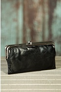 Women's Hobo Lauren Leather Clutch Wallet