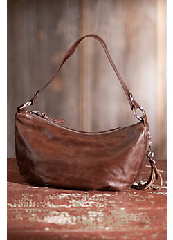 Women's Hobo Phoebe Leather Handbag