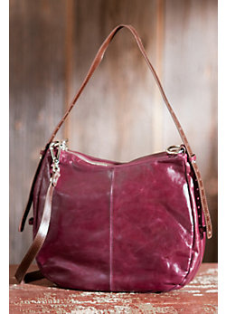 Women's Hobo Kinley Leather Convertible Handbag