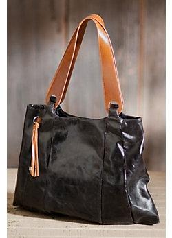 Women's Hobo Savannah Leather Tote Bag