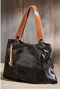 Women's Hobo Savannah Leather Tote Bag