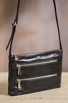 Hobo Mara Leather Crossbody Handbag