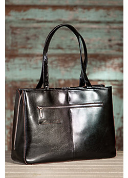 Women's Hobo Morena Leather Tote