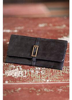 Women's Hobo India Leather Wallet