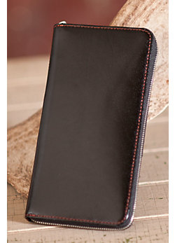 Women's Hobo Ines Leather Clutch with Smartphone Strap