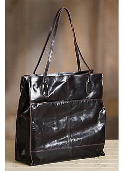 Women's Hobo Finley Leather Tote