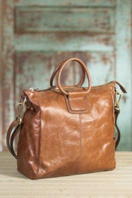 Hobo Sheila Leather Handbag