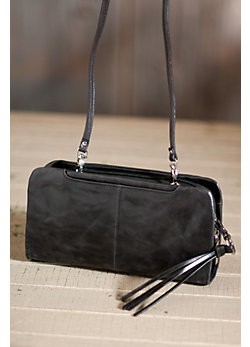 Women's Hobo Jessie Leather Cross-Body Handbag