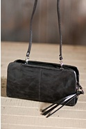 Women's Hobo Jessie Leather Crossbody Handbag