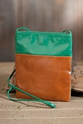 Women's Hobo Jenny Leather Crossbody Handbag