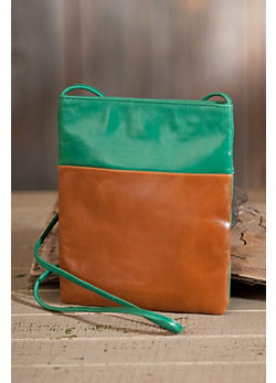 Women's Hobo Jenny Leather Cross-Body Handbag
