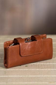Hobo Nancy Leather Wristlet Wallet