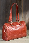 Women's Hobo Madelyn Leather Satchel