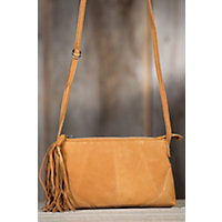 Women's Hobo Darcy Saffron Leather Handbag Western & Country