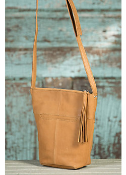 Women's Hobo Tessa Crossbody Leather Handbag