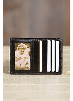 Women's Hobo Euro Slide Vintage Leather Wallet