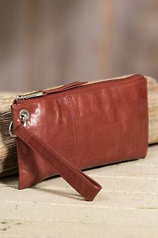 Hobo Vida Leather Wristlet Wallet