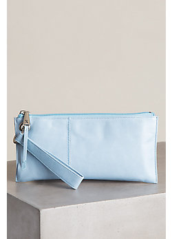Women's Hobo Vida Leather Wristlet Wallet