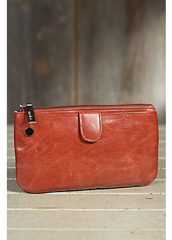 Hobo Bess Leather Crossbody Handbag Wallet