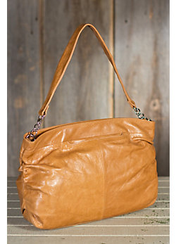 Women's Hobo Candice Leather Handbag