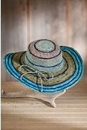 Women's Organic Crocheted Raffia Hat