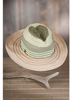 Women's Multicolor Ribbon Safari Hat