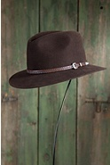 Nevada Wool Felt Fedora Hat