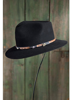 Rainier Wool Felt Fedora Hat