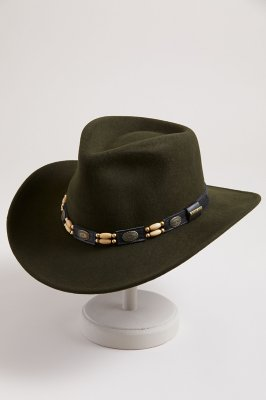 Crushable Outback Felt Tracker Hat