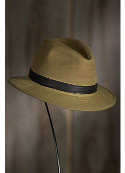 Ace Waxed Cotton Safari Hat
