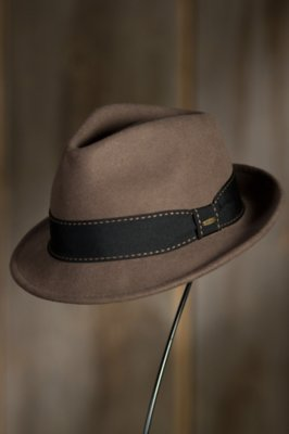 Tyson Crushable Wool Fedora Hat