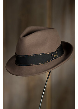 Tyson Crushable Wool Fedora Hat