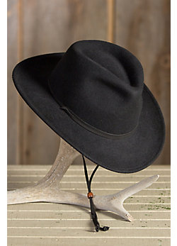 Decatur Crushable Wool Outback Hat