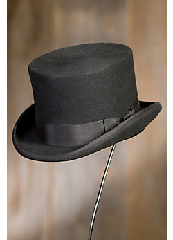 Desta Wool Felt Top Hat