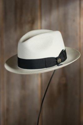 Havana Biltmore Panama Straw Fedora Hat