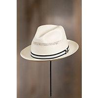 Biltmore Abby Road Straw Panama Hat, IVORY, Size Large (7 1/4–7 3/8)