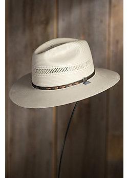 Biltmore Outlander Straw Fedora Hat