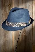 Stetson Linen Blend Fedora Hat