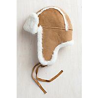 Australian Merino Sheepskin Trapper Hat, CAMEL