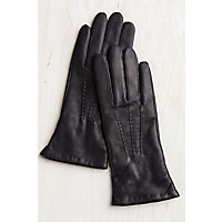 Overland Women's Rosewood Cashmere-Lined Lambskin Leather Gloves