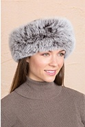 Women's Fox Fur Headband