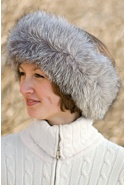 Women's Fox Fur Headband II