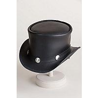 Steampunk Men's Hats Steampunk El Dorado Leather Hat with Buffalo Nickels BLACK Size ML  7 - 7 12 $159.00 AT vintagedancer.com