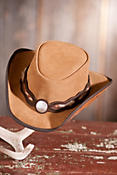Fort Worth Western Suede Hat